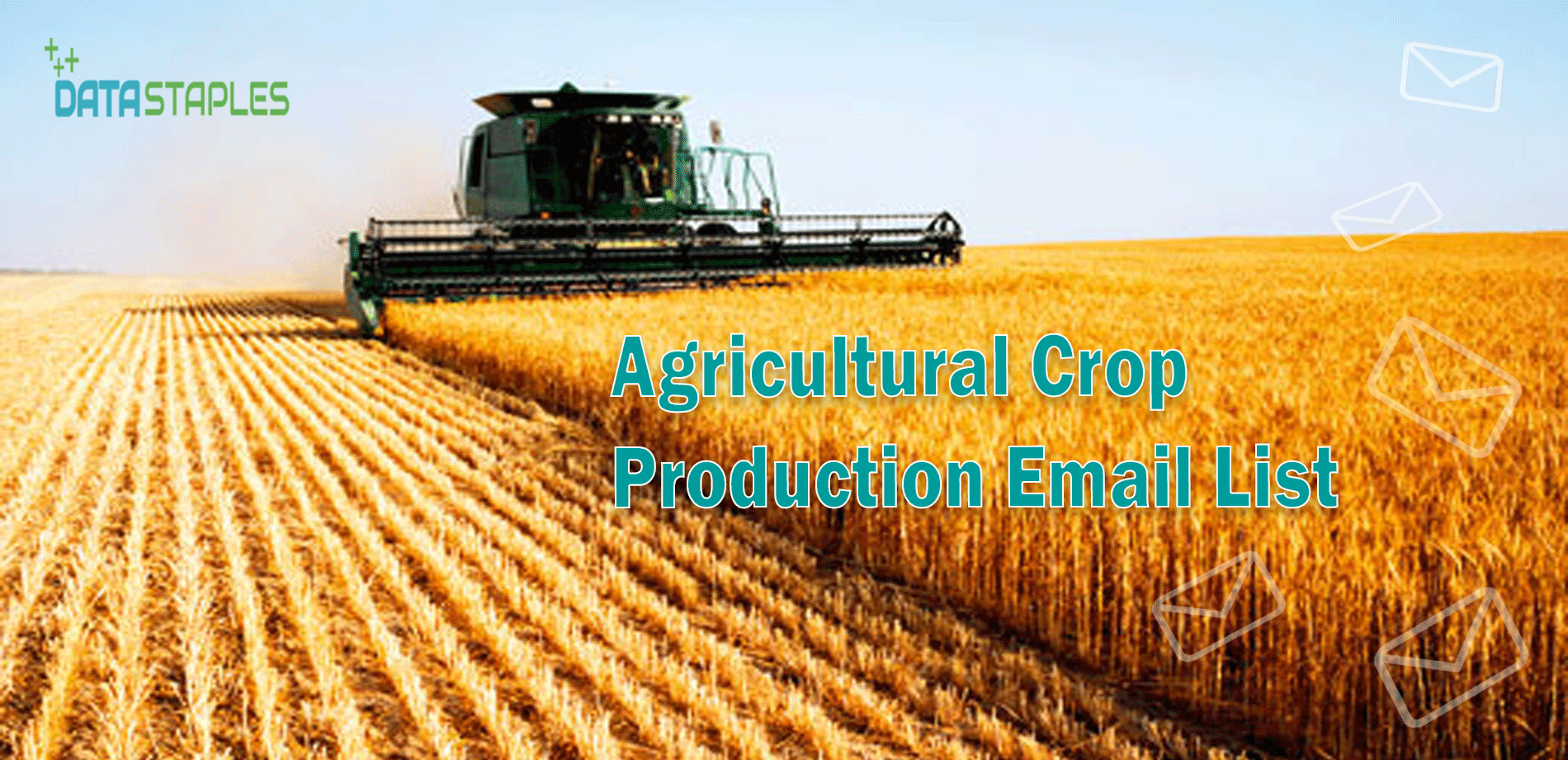 Agricultural Crop Production Email List   DataStaples