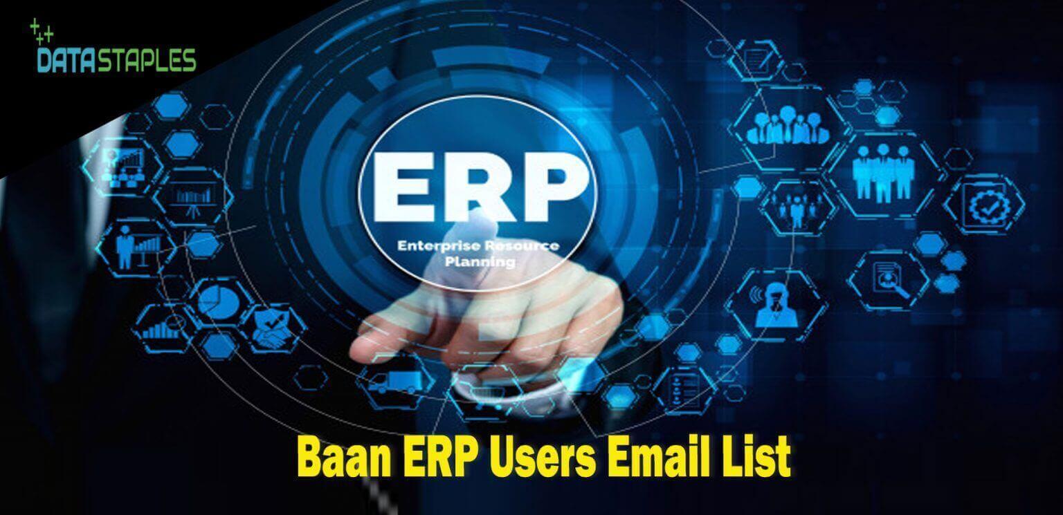 Baan ERP Users Email List   DataStaples