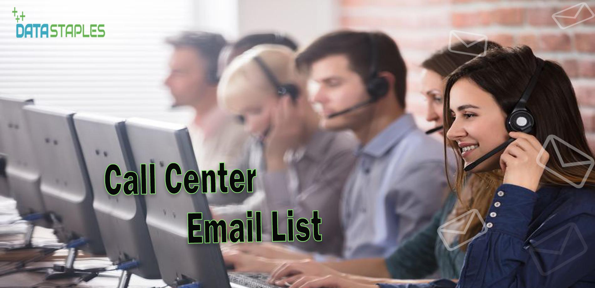 Call Center Email List | DataStaples