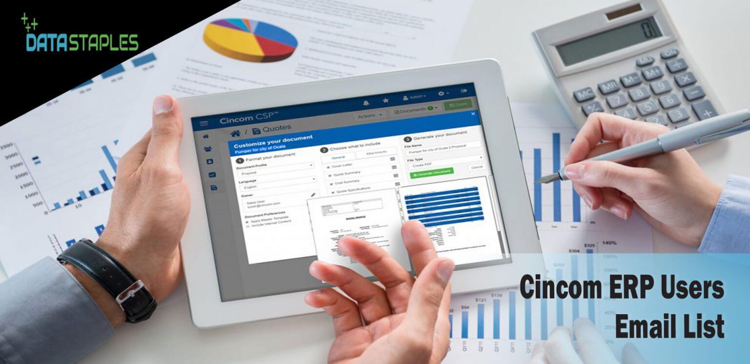 Cincom ERP Users List | DataStaples