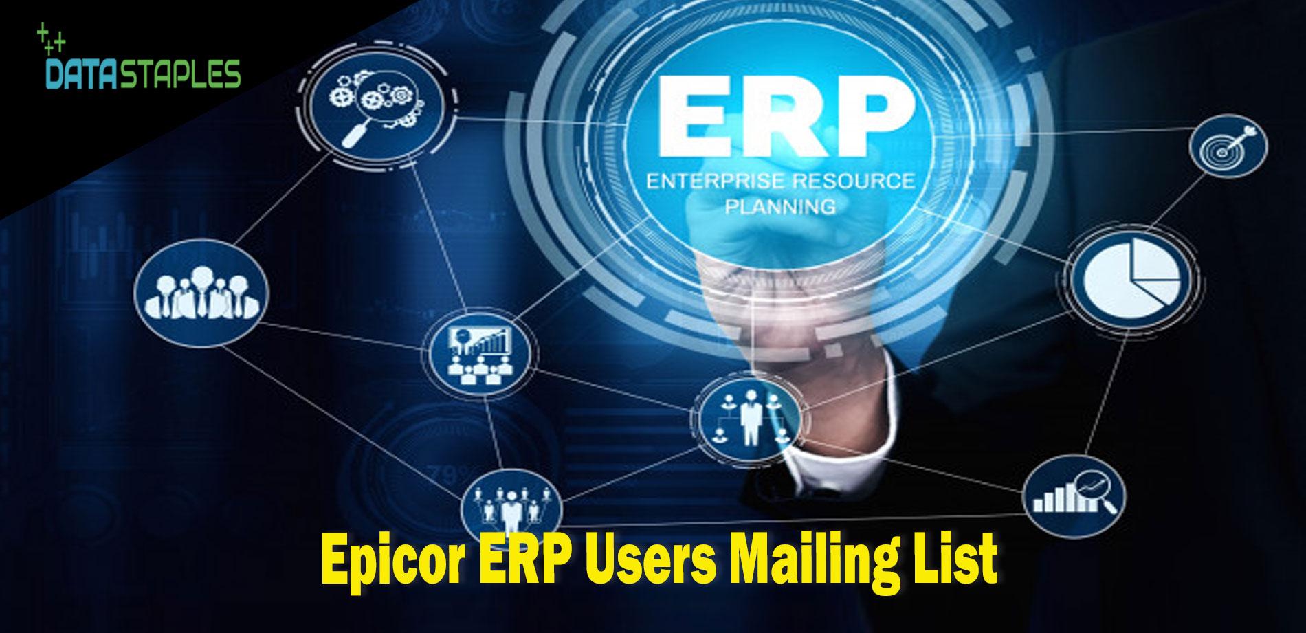Epicor ERP Users Email List | DataStaples