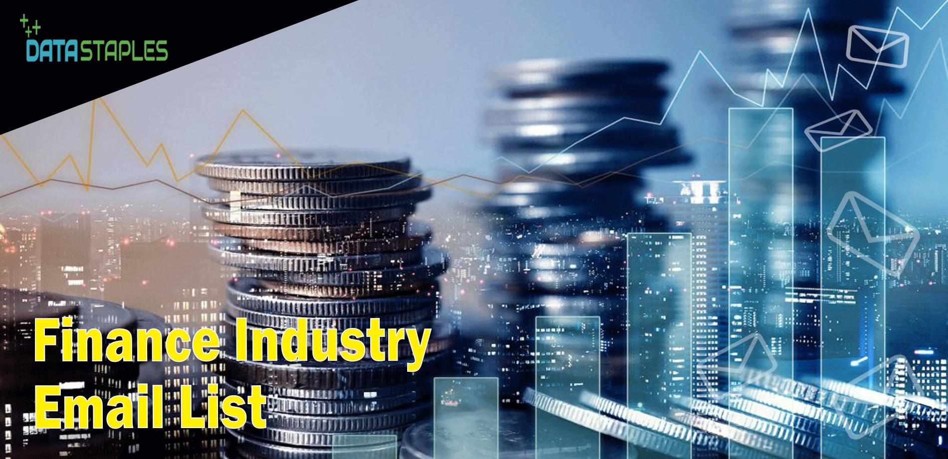 Finance Industry Email List | DataStaples