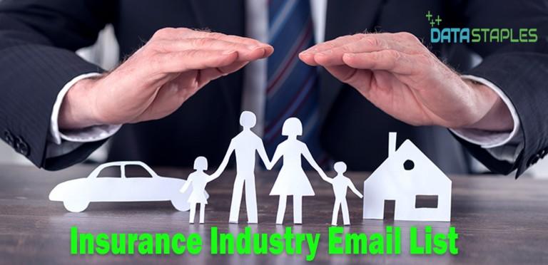 Insurance Industry Email List   DataStaples