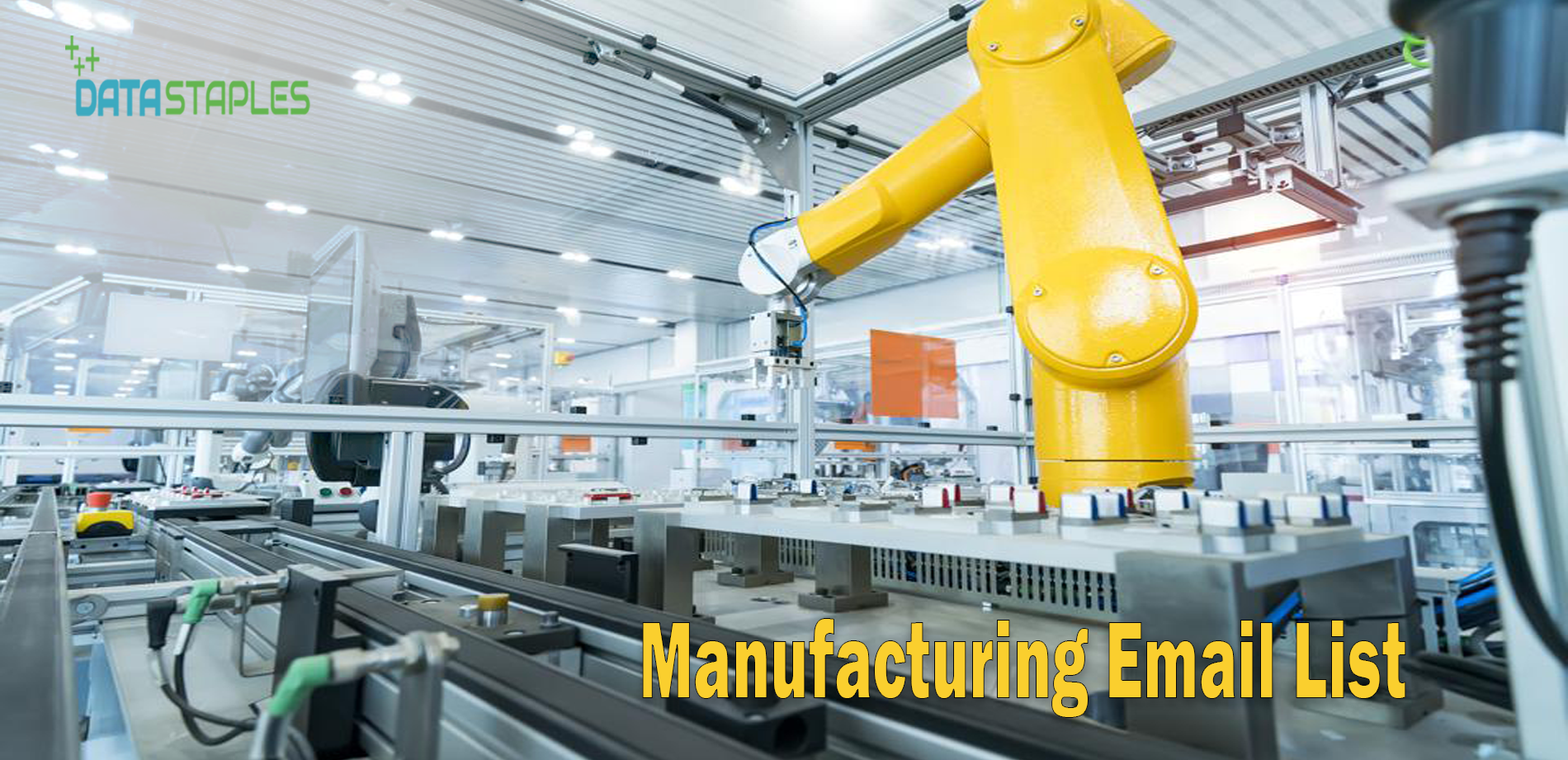 Manufacturing Email List | DataStaples