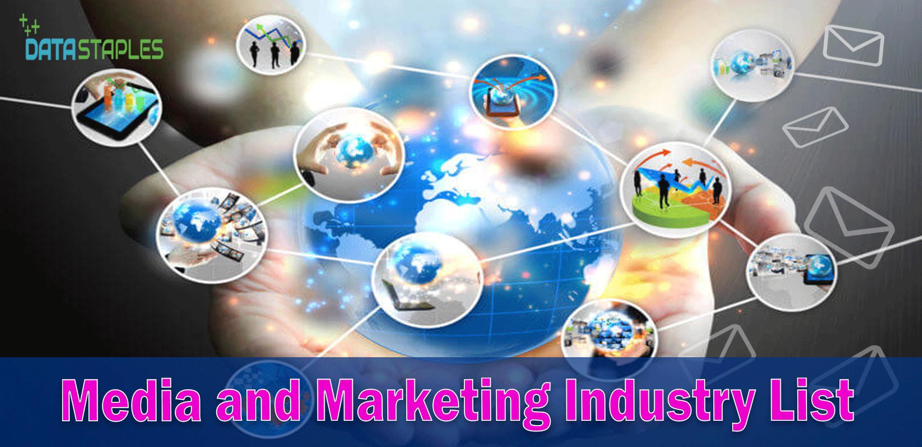 Media and Marketing Industry List | DataStaples
