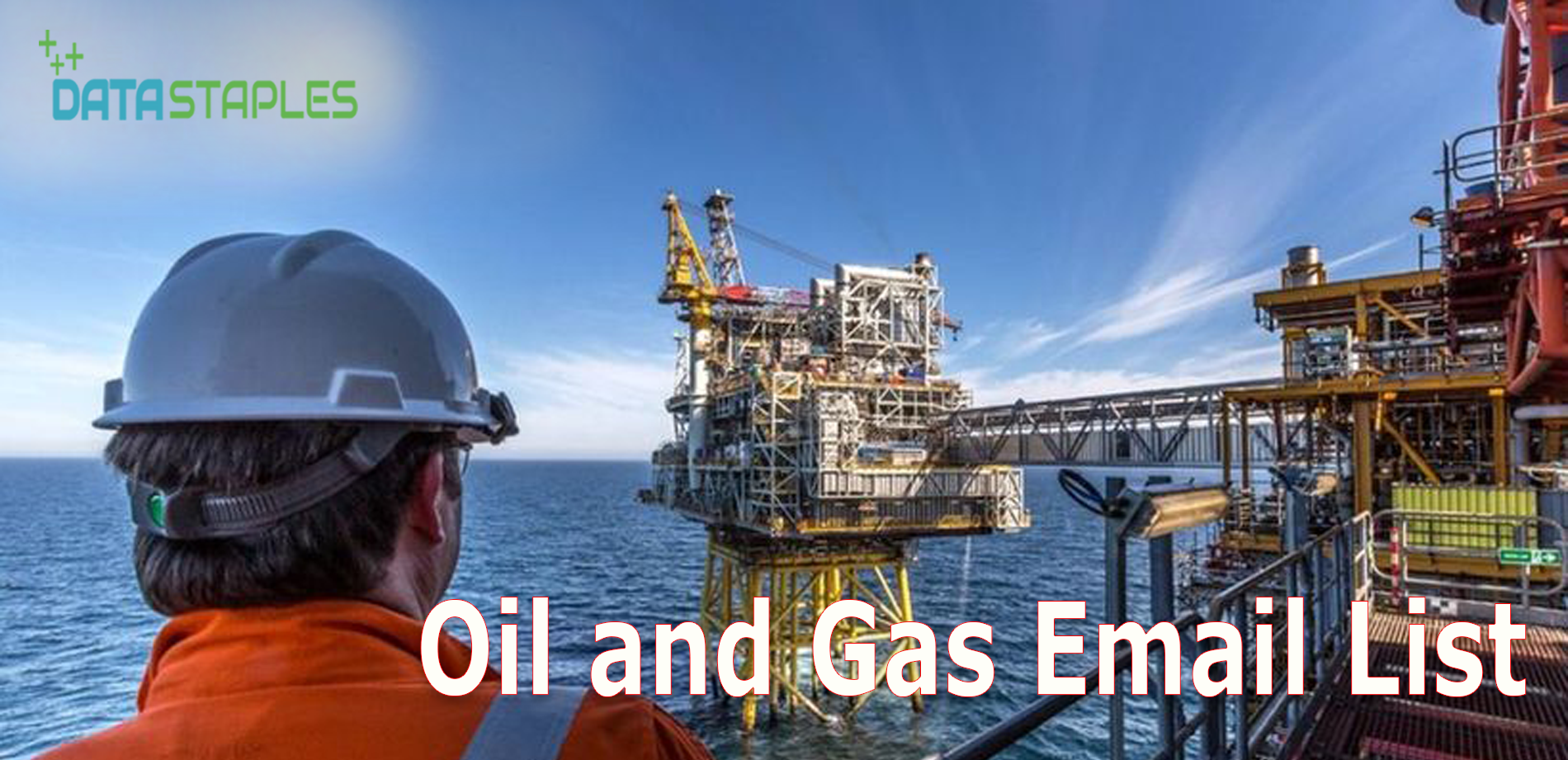 Oil and Gas Email List | DataStaples