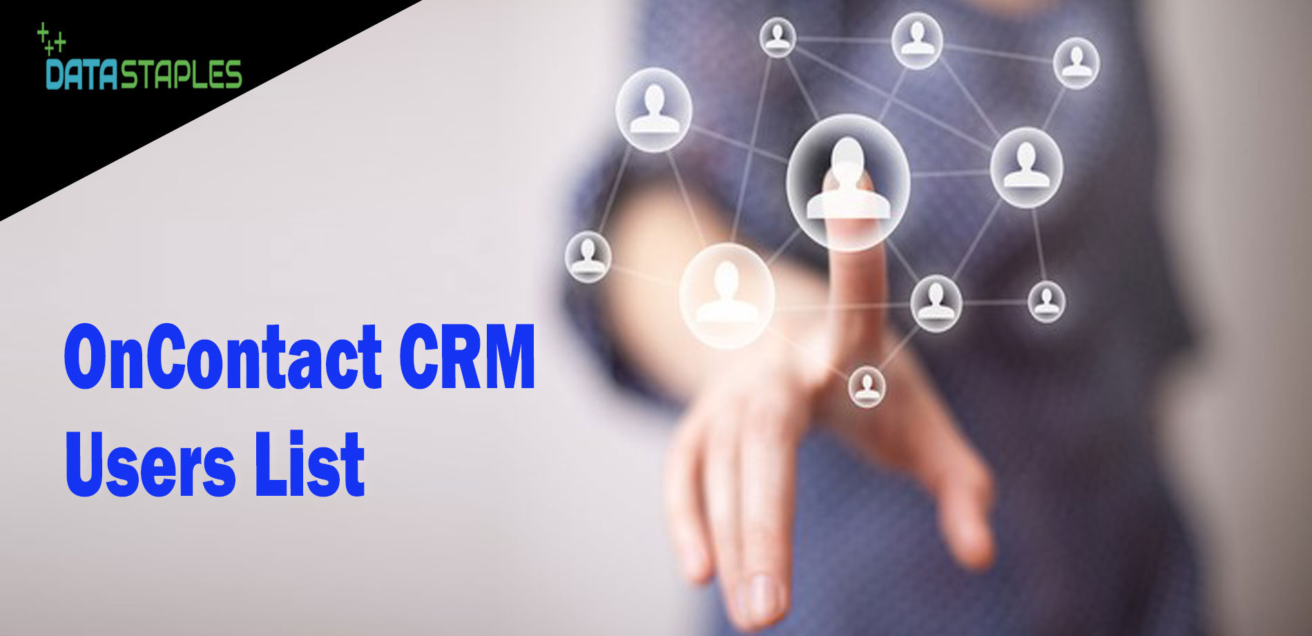OnContact CRM Users Mailing List | DataStaples