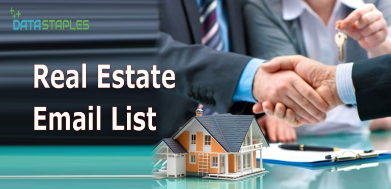 Real Estate Email List | DataStaples