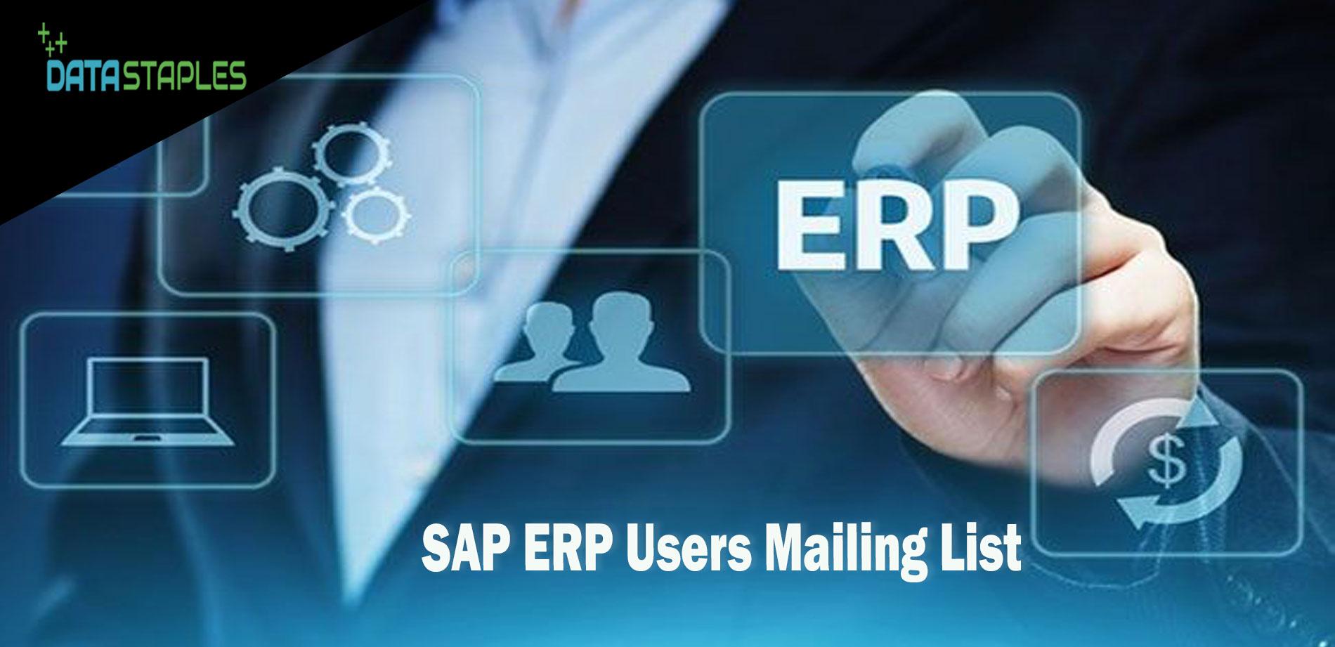 SAP ERP Users Mailing List | DataStaples