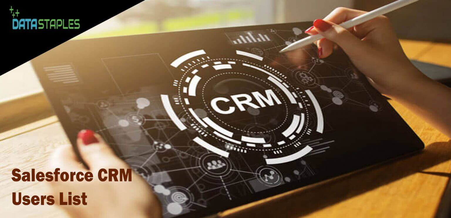 Salesforce CRM Users Mailing List   DataStaples