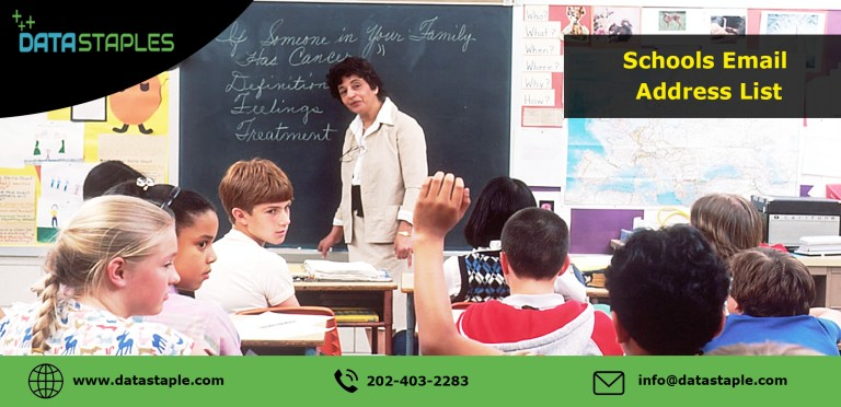School Address Email List | DataStaples