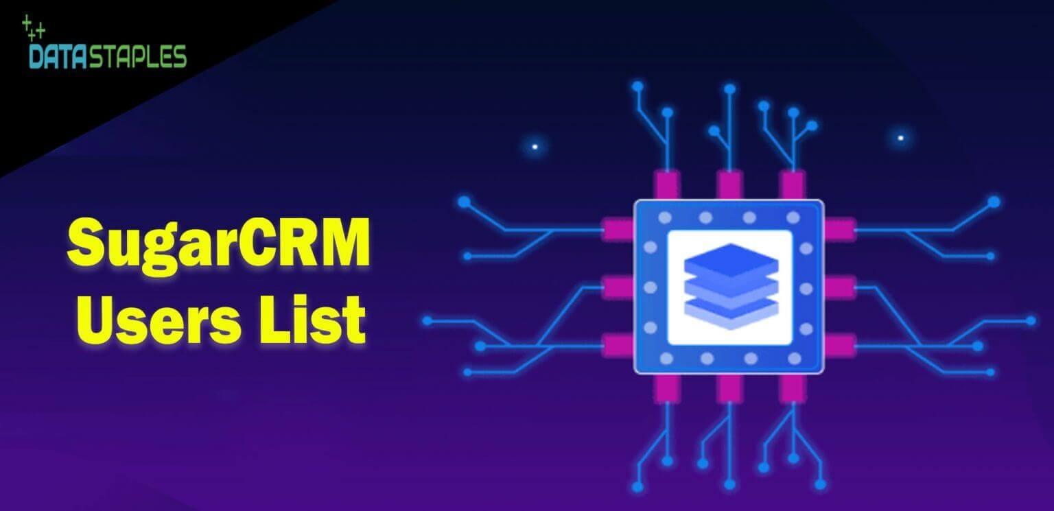 SugarCRM Users Mailing List   DataStaples