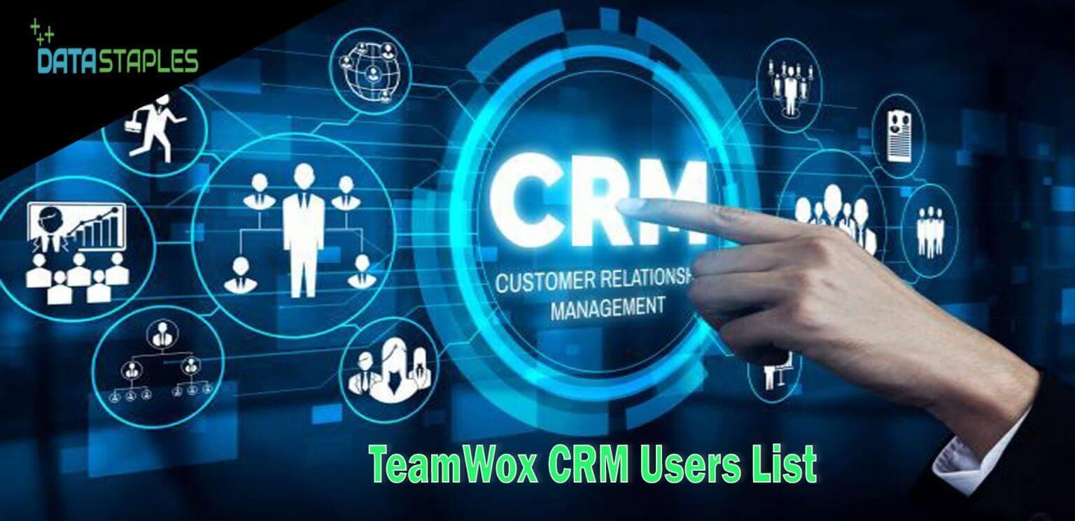 Teamwox CRM Users List   DataStaples