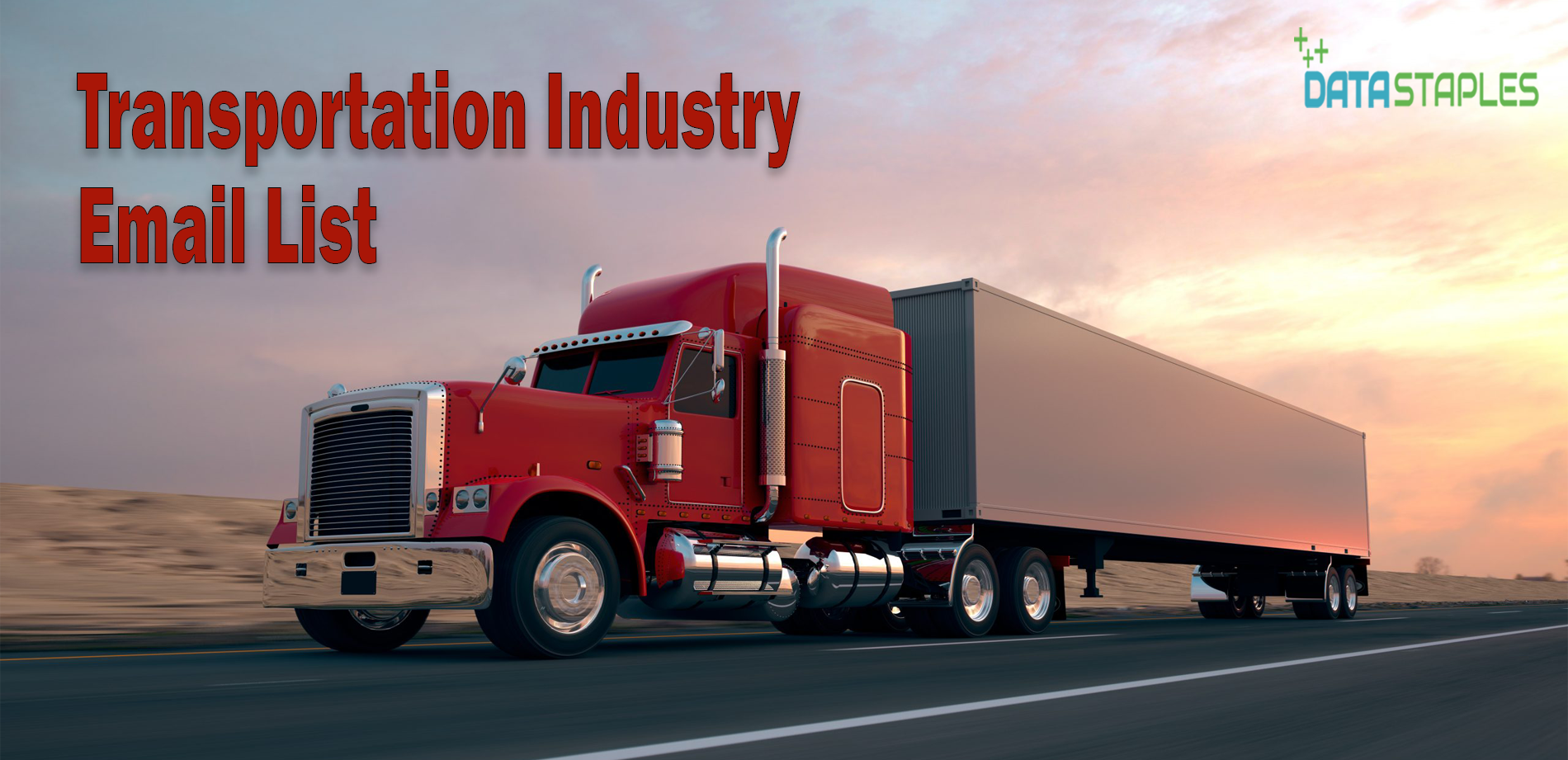 Transportation Industry Email List | DataStaples