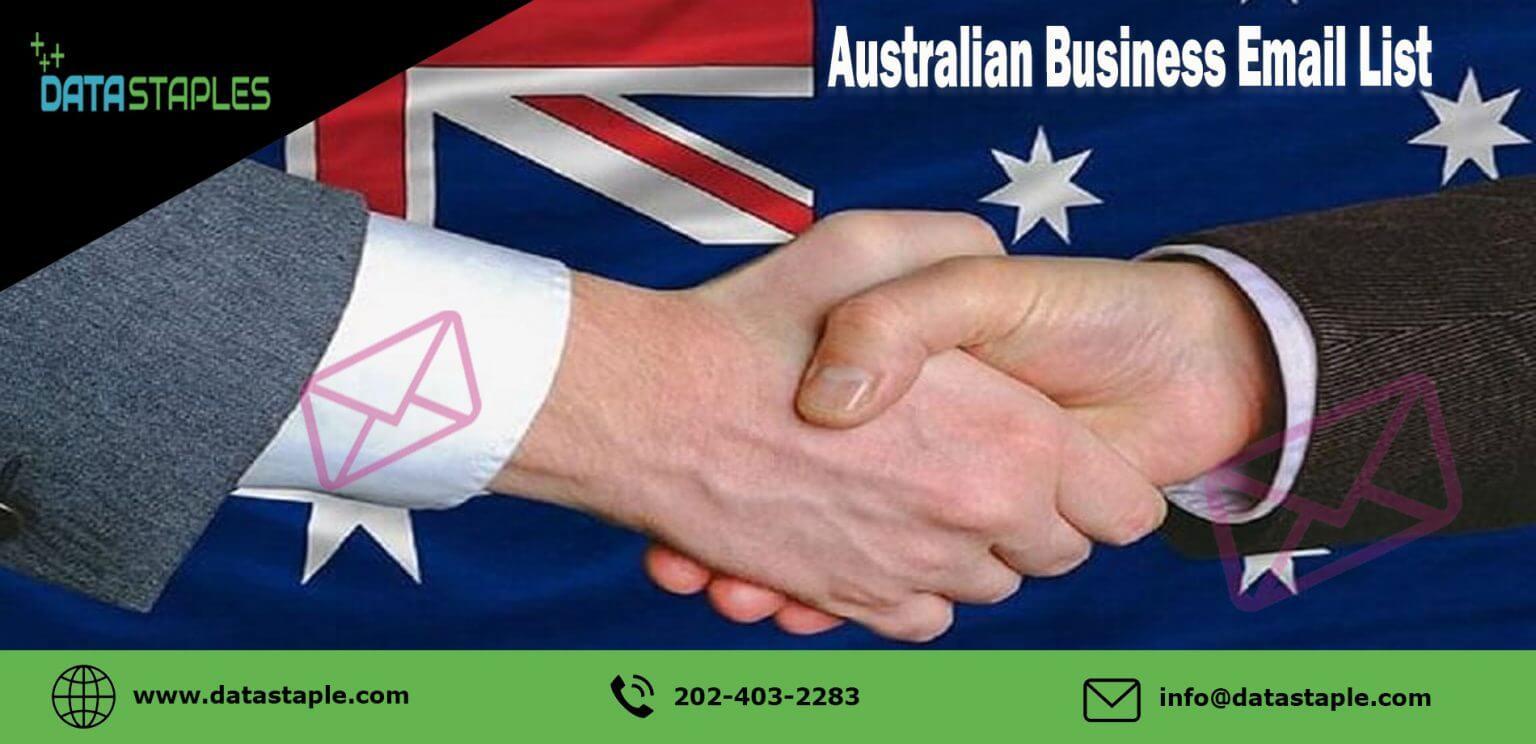 Australian Business Email List | DataStaples