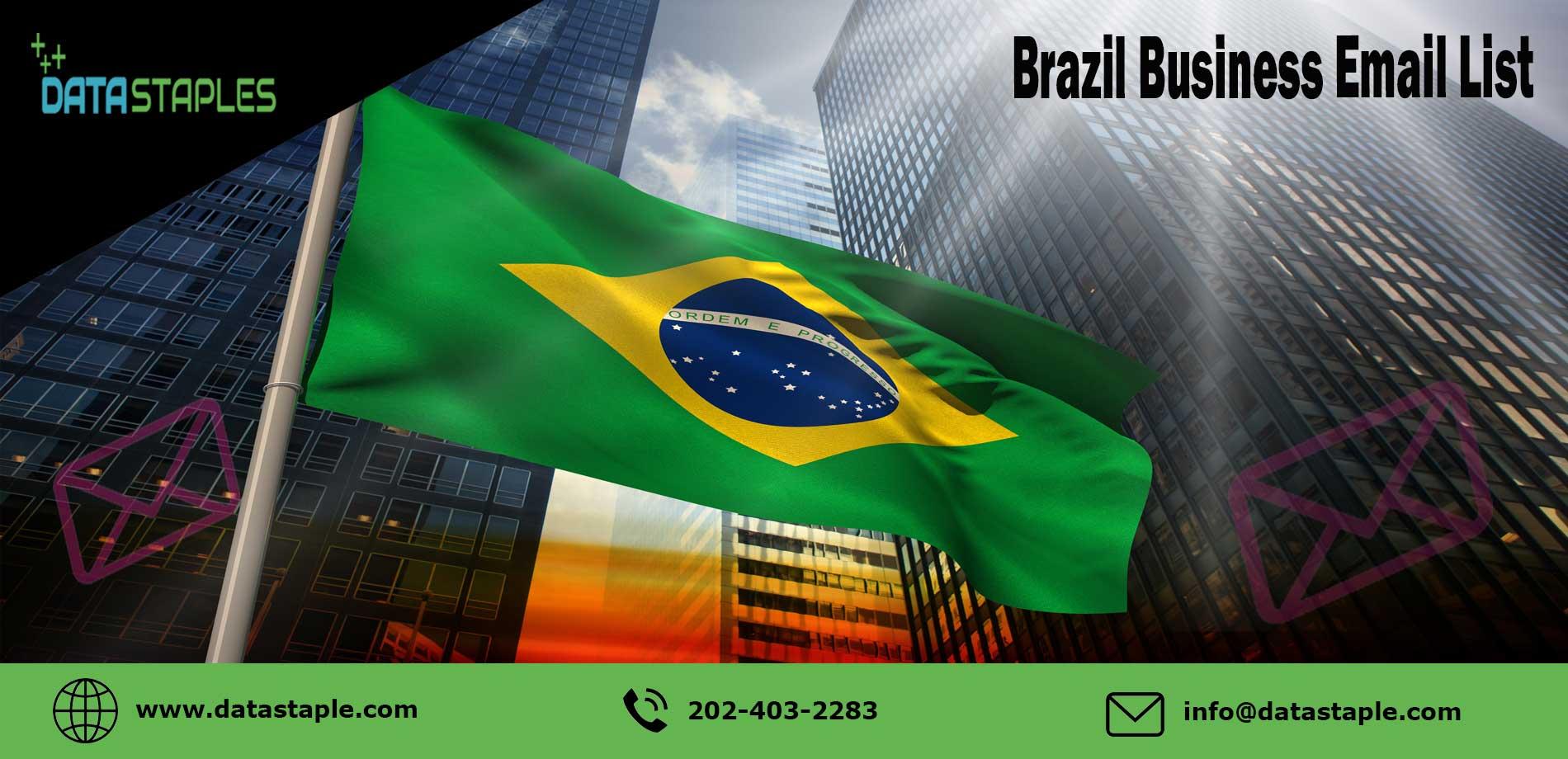 Brazil Business Email List   DataStaples