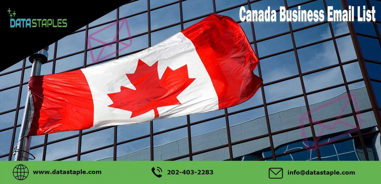 Canada Business Email List   DataStaples