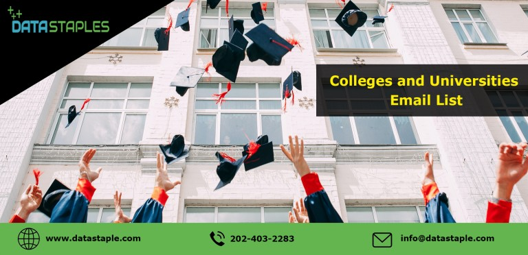 Colleges and Universities Email List   DataStaples