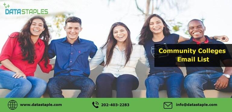 Community Colleges Email List | DataStaples