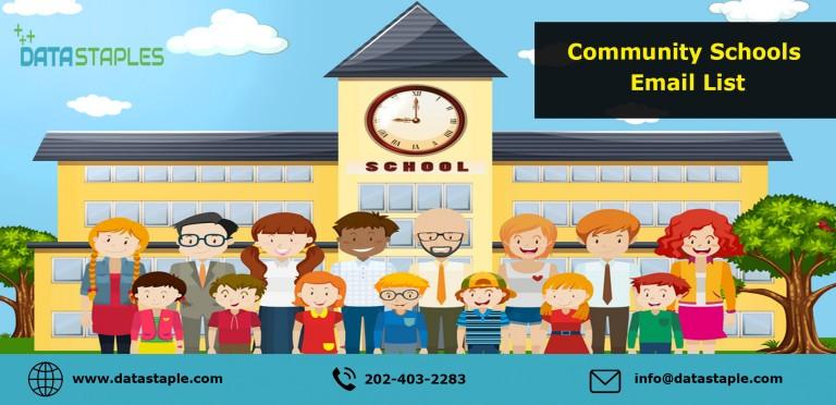 Community Schools Mailing List | DataStaples
