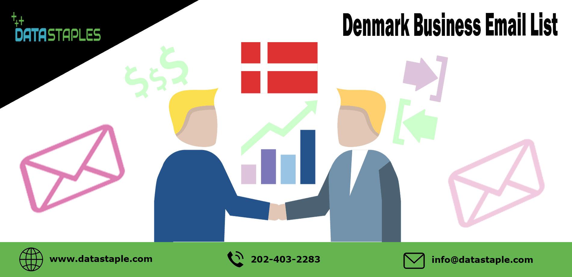 Denmark Business Email List | DataStaples