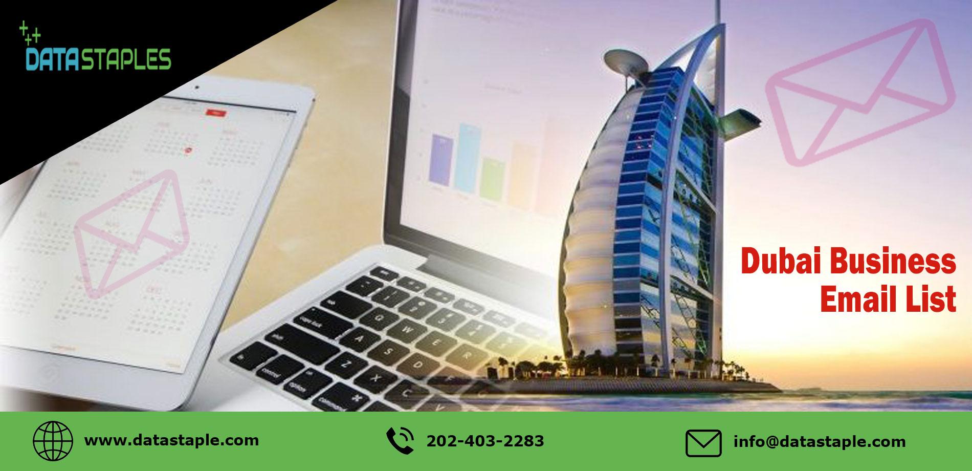 Dubai Business Email List   DataStaples