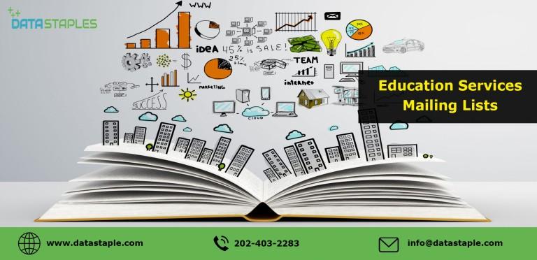 Education Services Email List   DataStaples