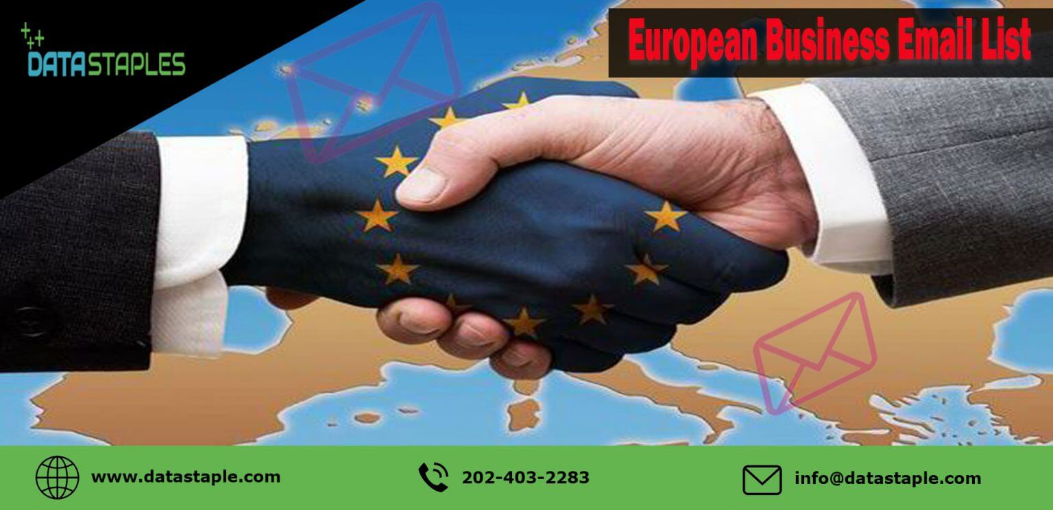 European Business Email List | DataStaples