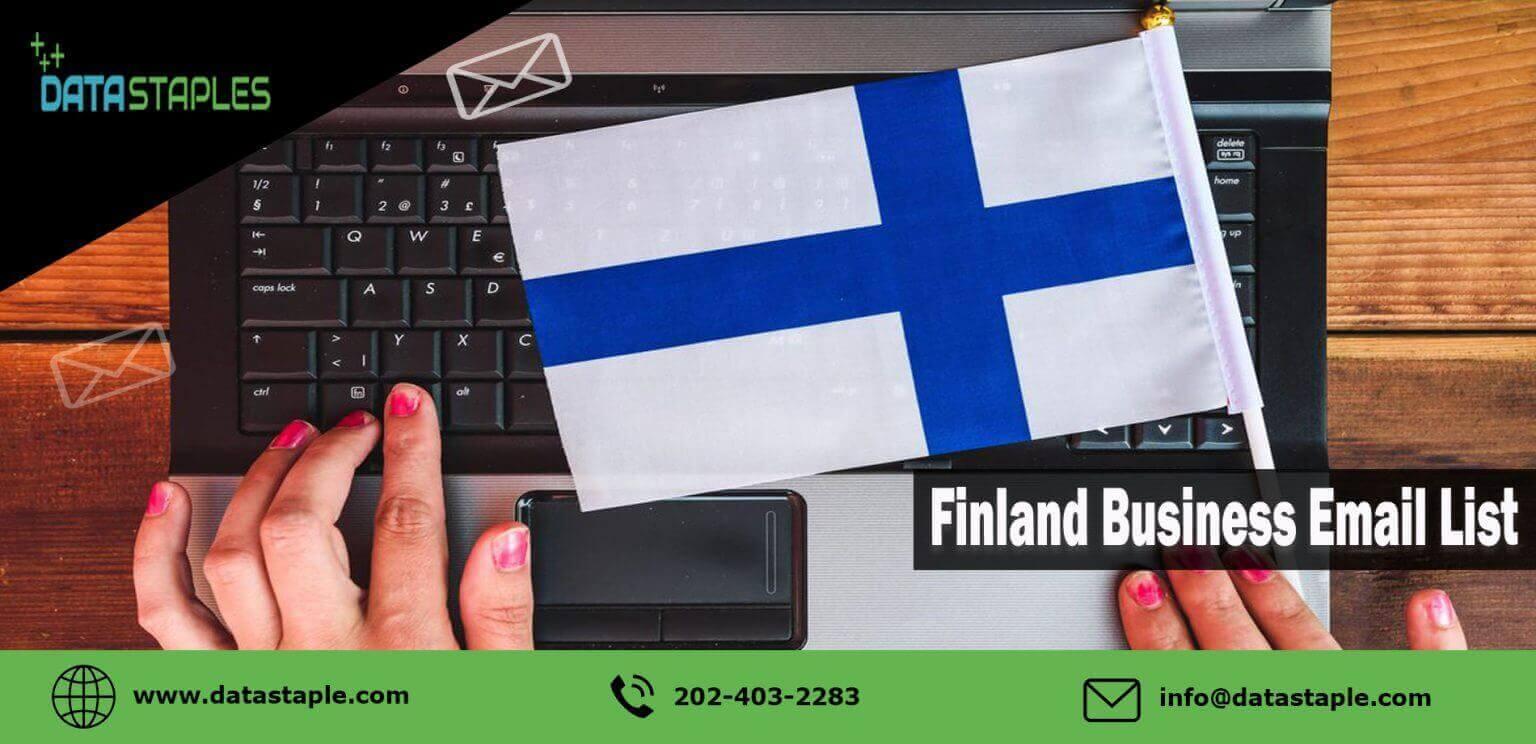 Finland Business Email List | DataStaples