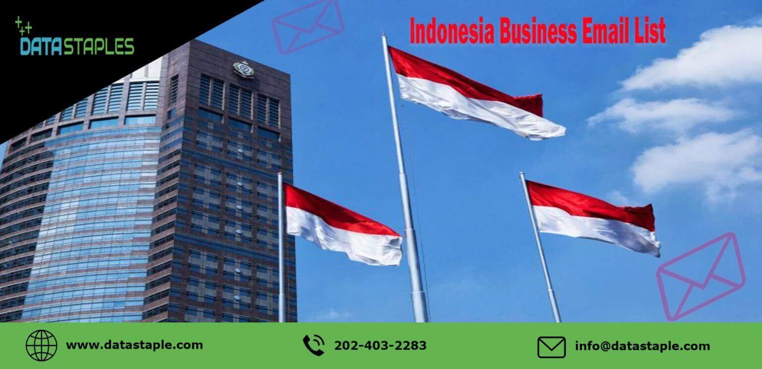 Indonesia Business Email List | DataStaples