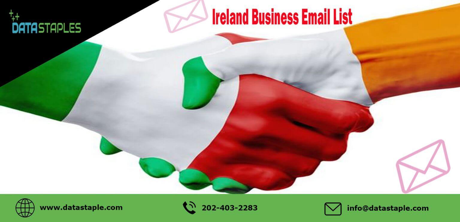 Ireland Business Email List | DataStaple