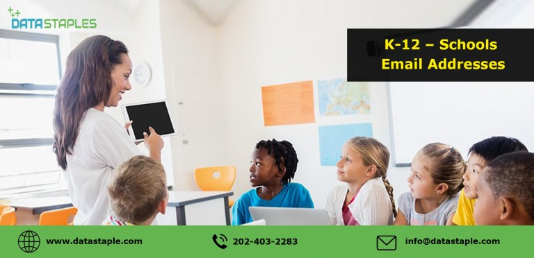K-12 Schools Email List | DataStaples