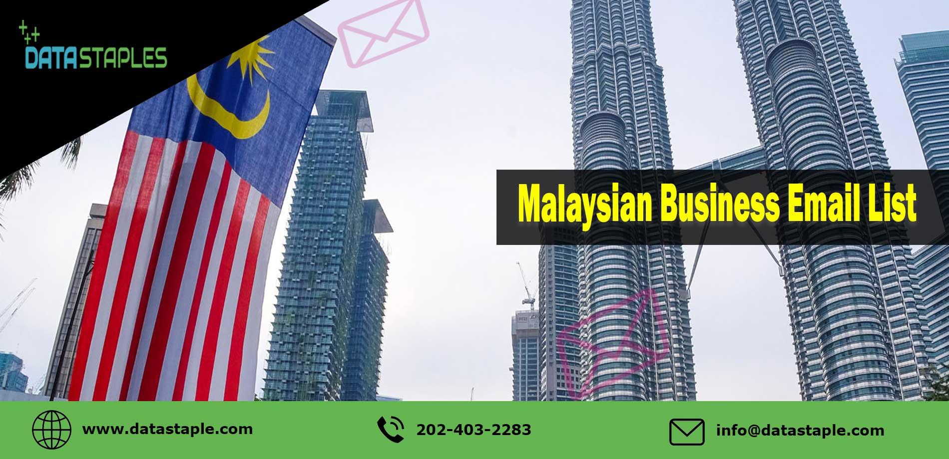 Malaysian Business Email List | DataStaples