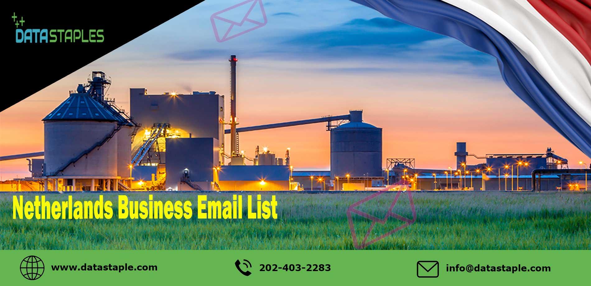 Netherlands Business Email List   DataStaples