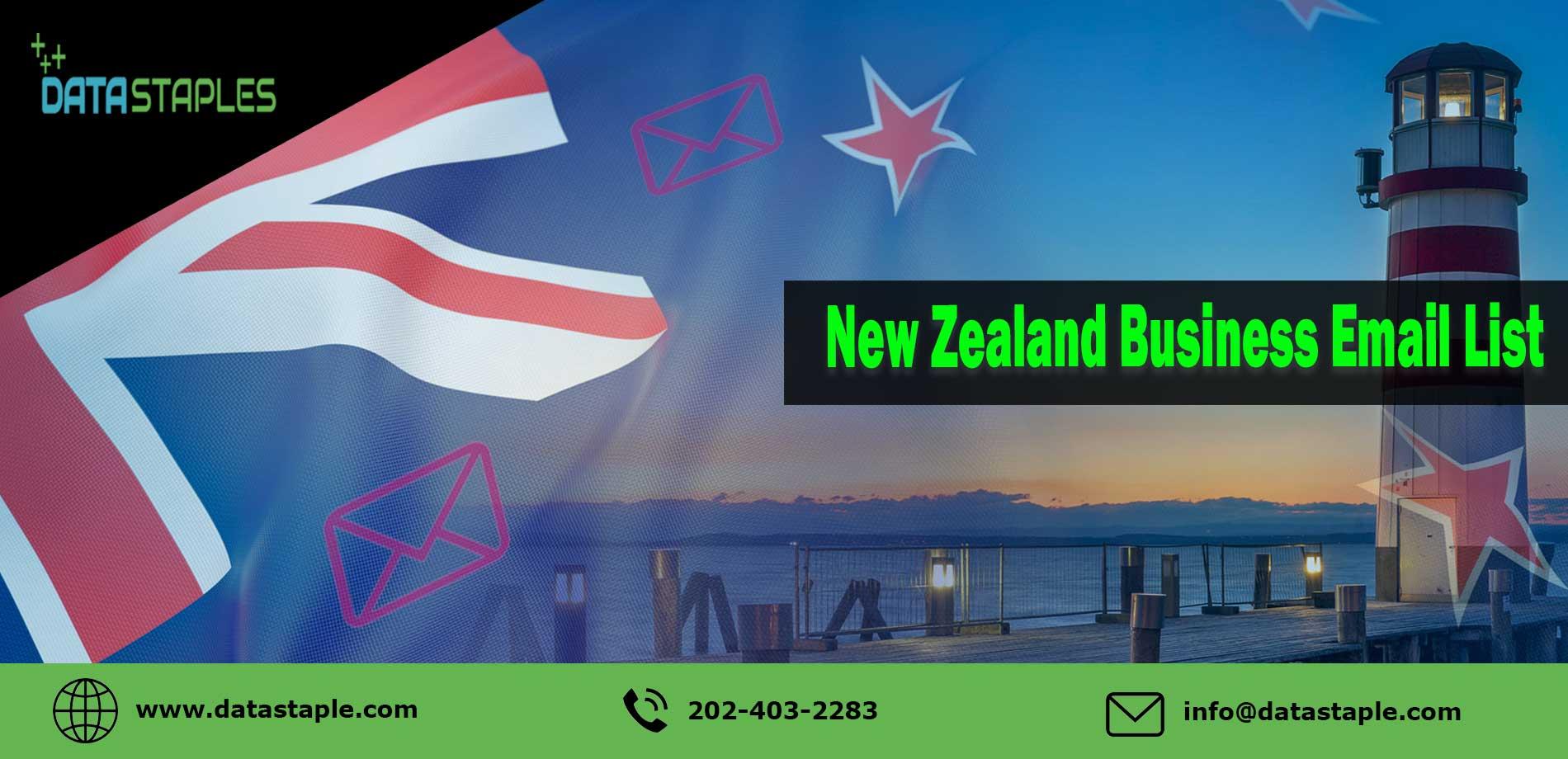 New Zealand Business Email List   DataStaples