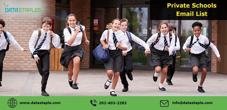 Private Schools Mailing List | DataStaples