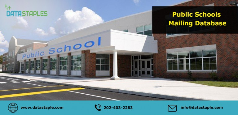 Public Schools Mailing List | DataStaples