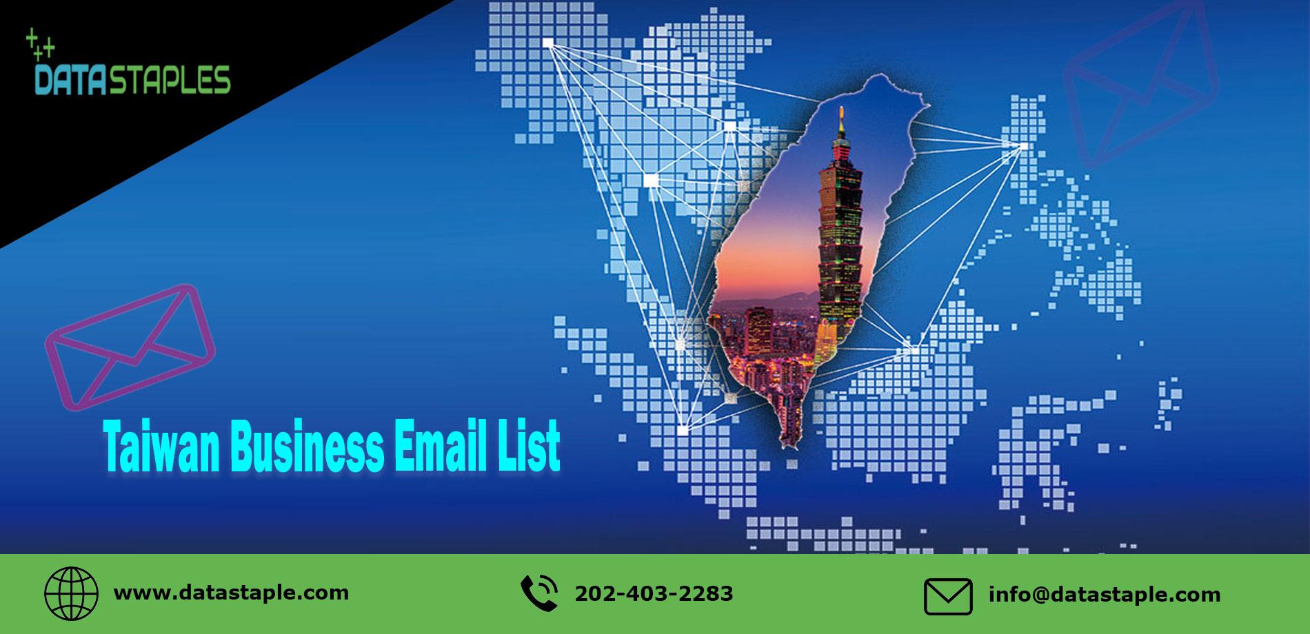 Taiwan Business Email List   DataStaples