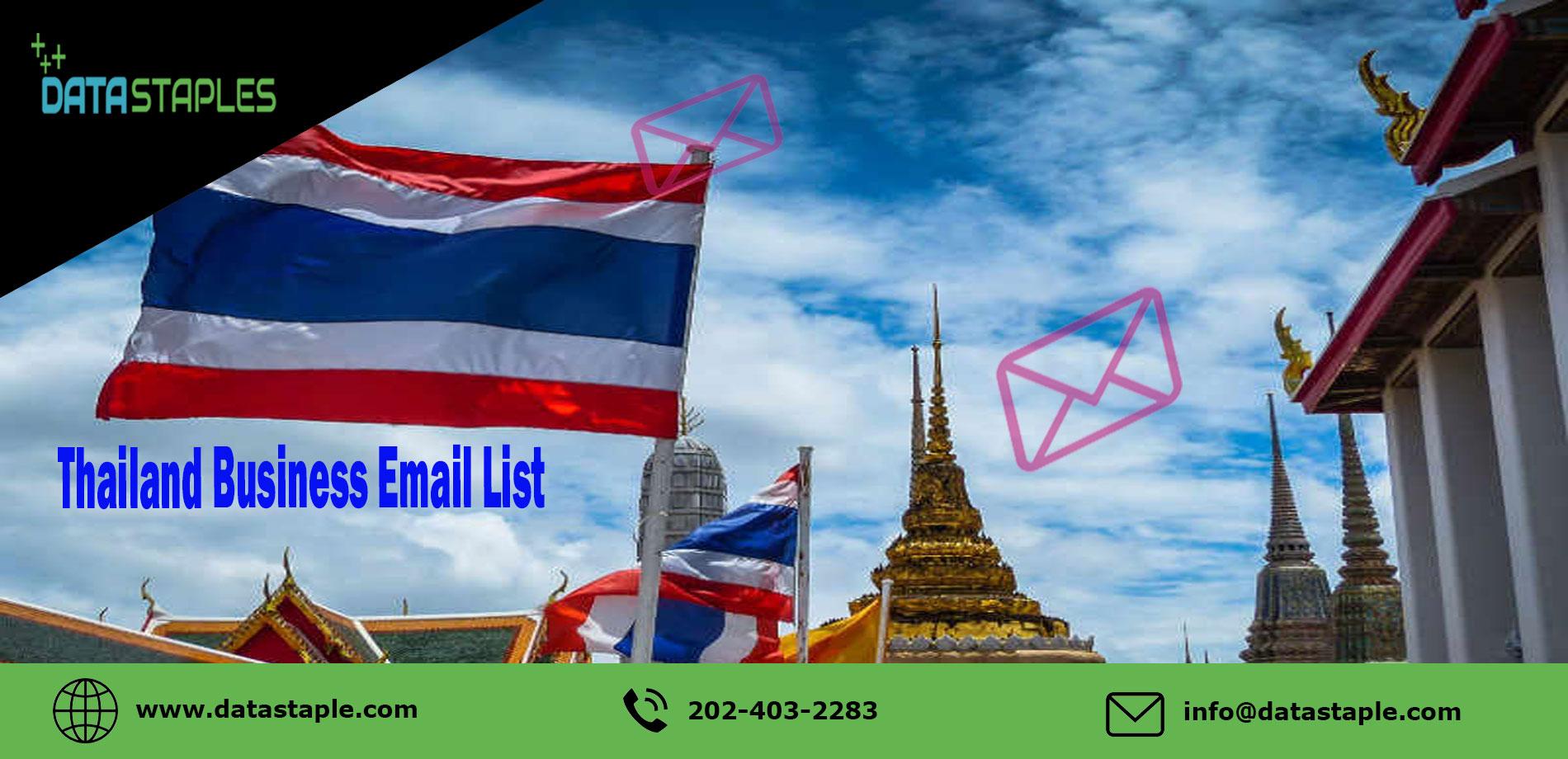 Thailand Business Email List   DataStaples