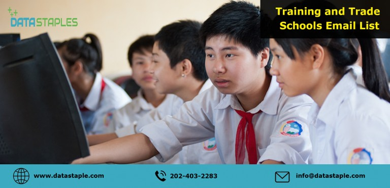 Training and Trade Schools Email List | DataStaples