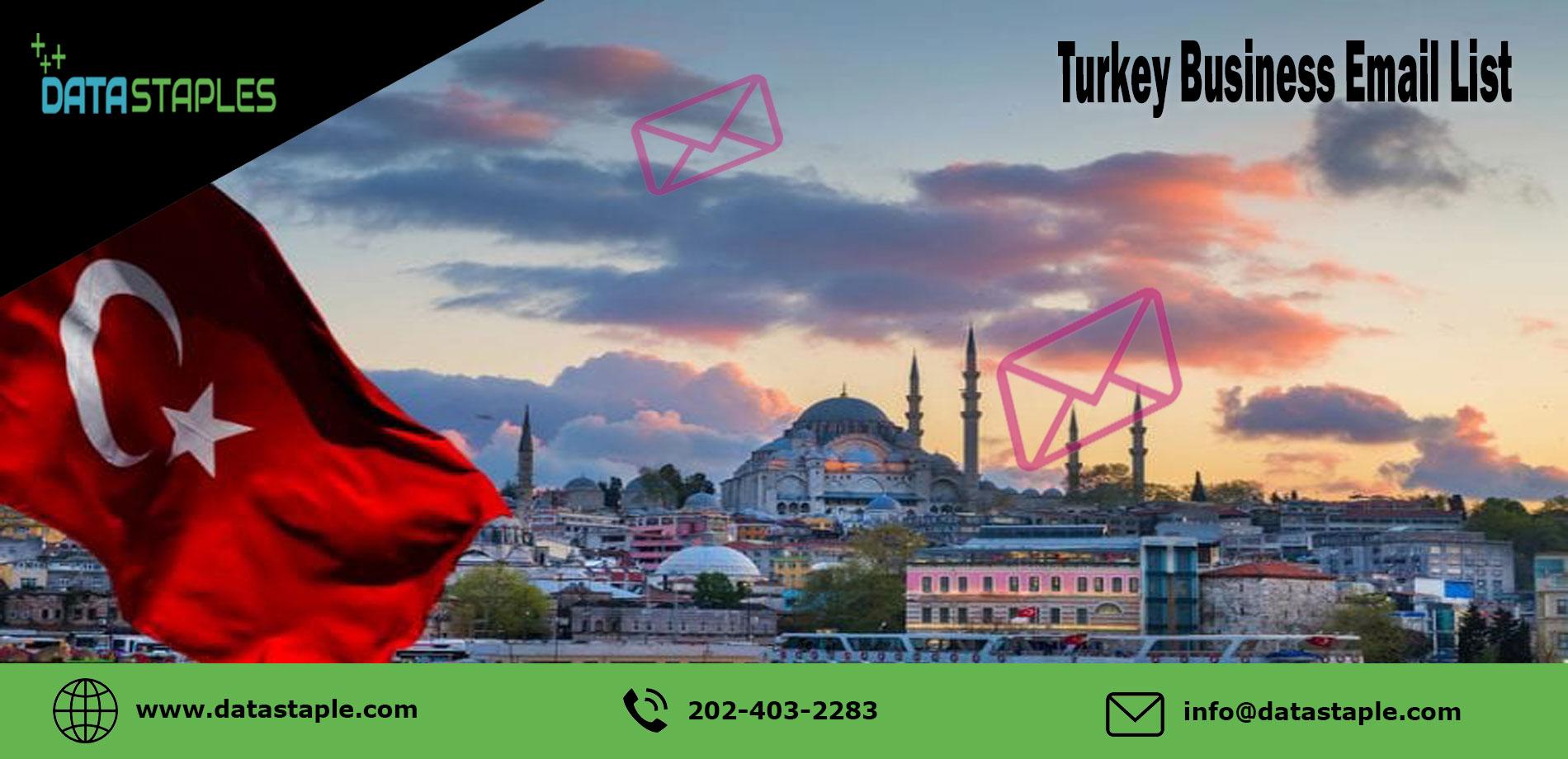Turkey Business Email List | DataStaples