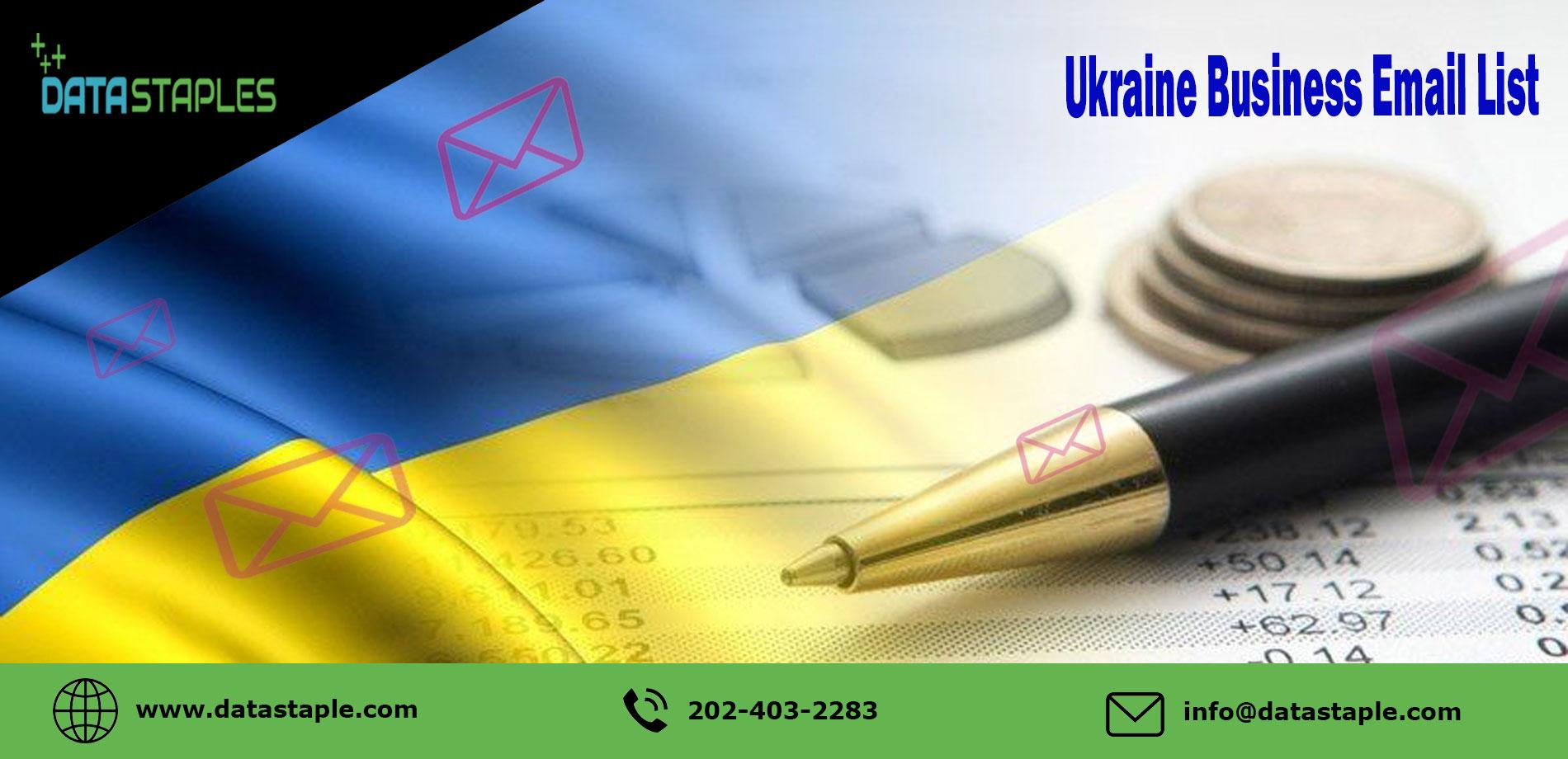 Ukraine Business Email List   DataStaples