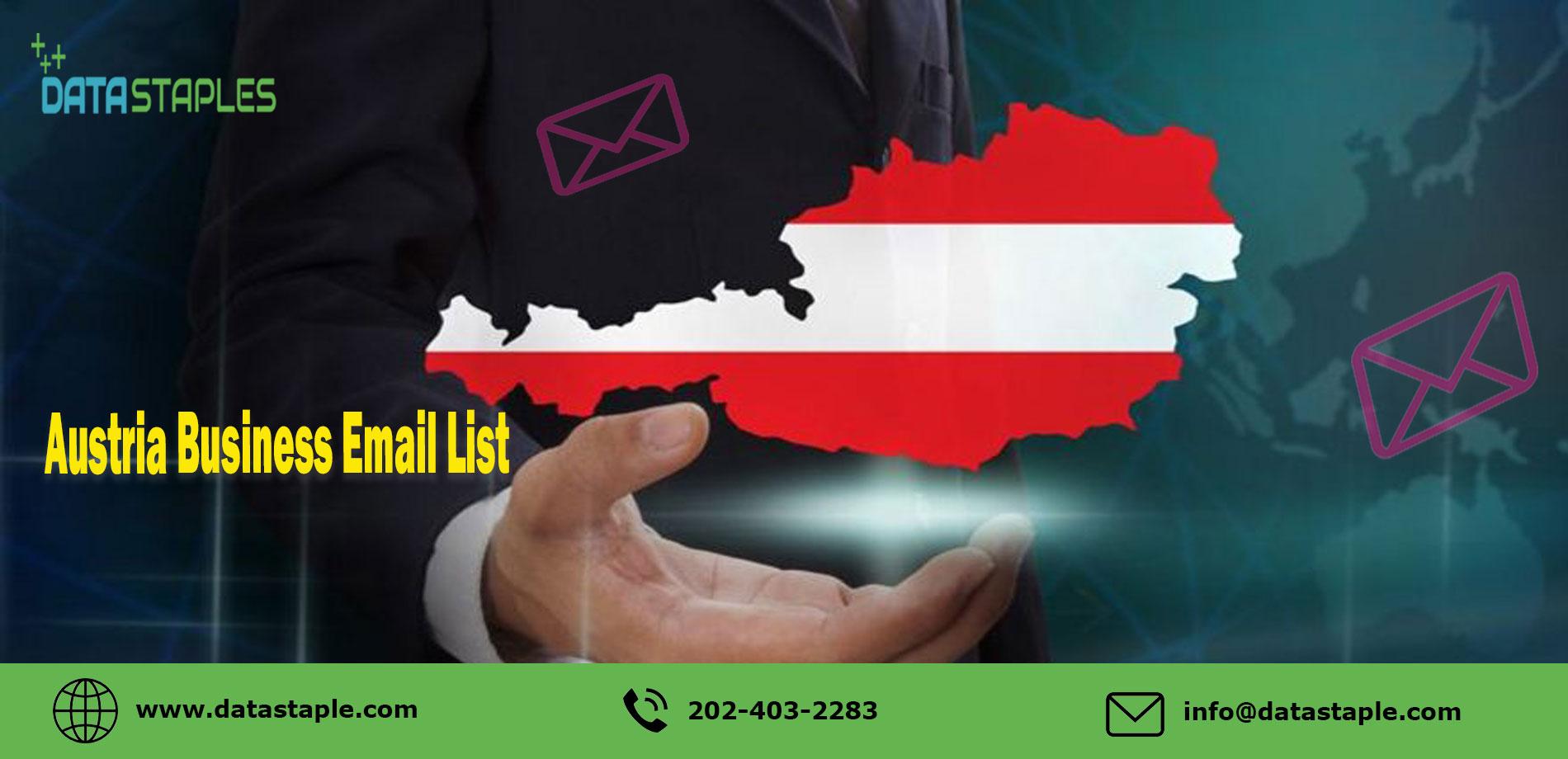 Austria Business Email List   DataStaples