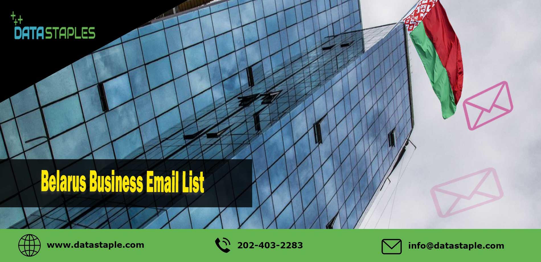 Belarus Business Email List   DataStaples