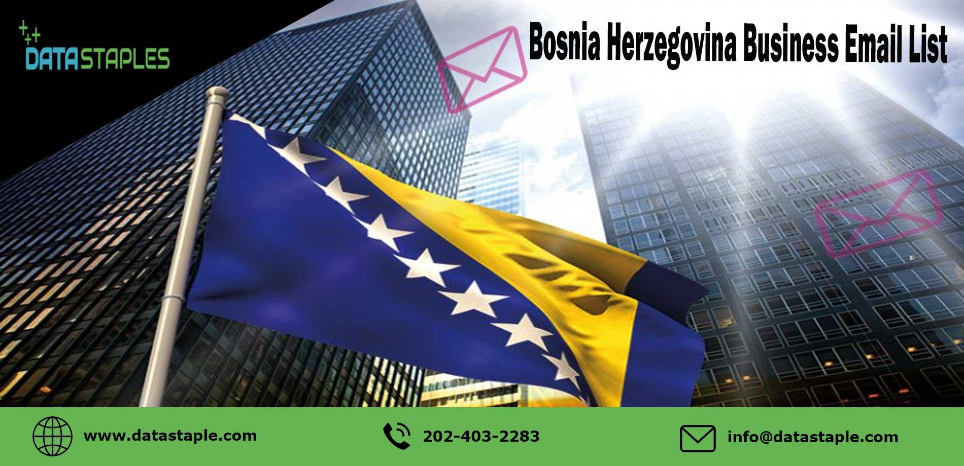 Bosnia Herzegovina Business Email List | DataStaples