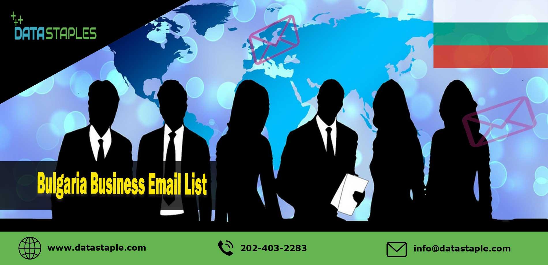Bulgaria Business Email List   DataStaples