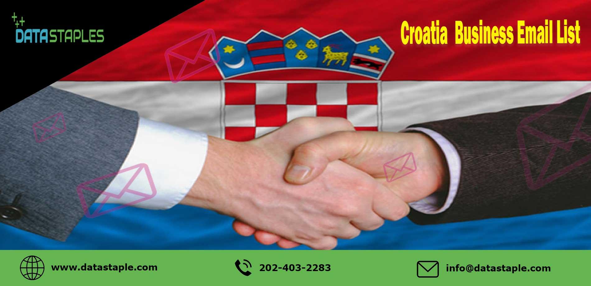 Croatia Business Email List | DataStaples