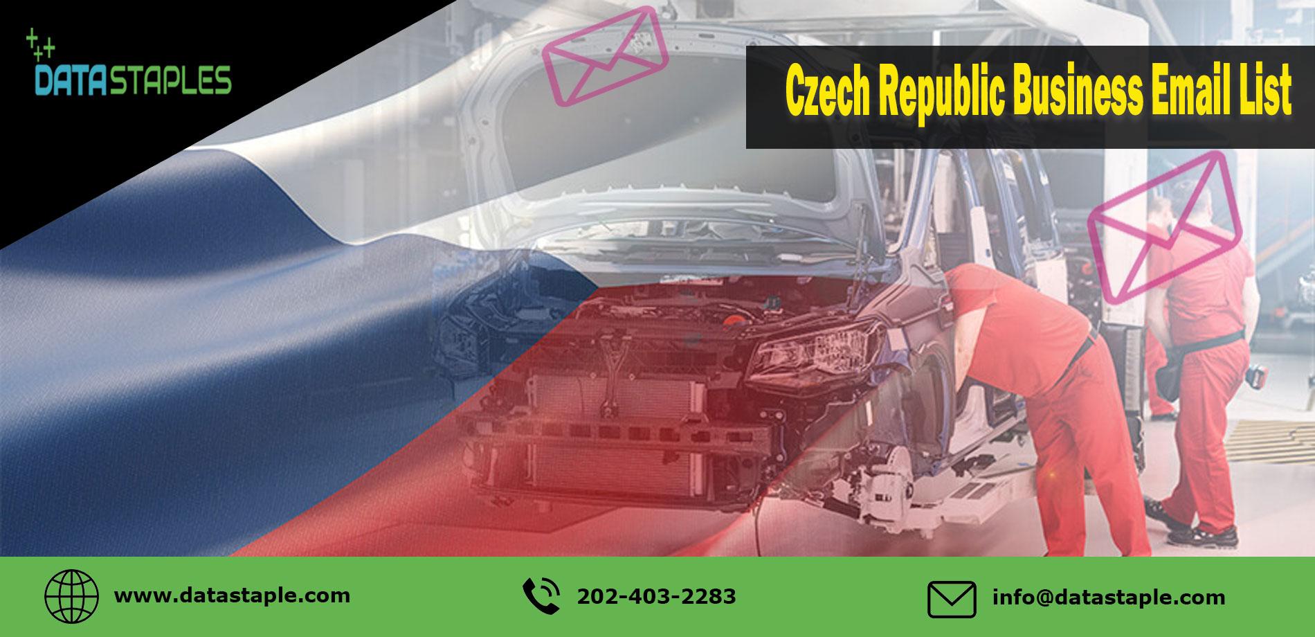Czech Republic Business Email List | DataStaples