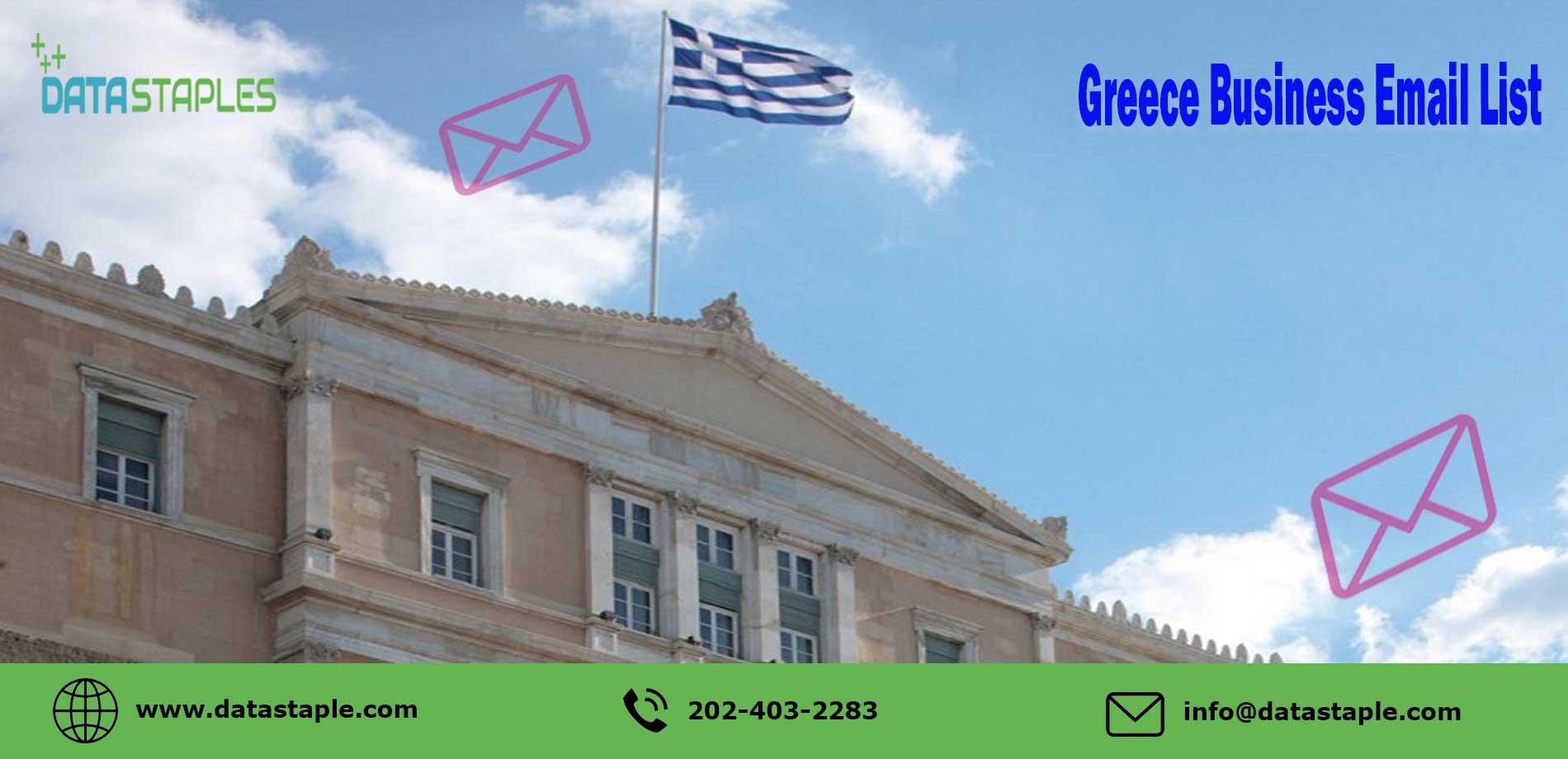 Greece Business Email List   DataStaples