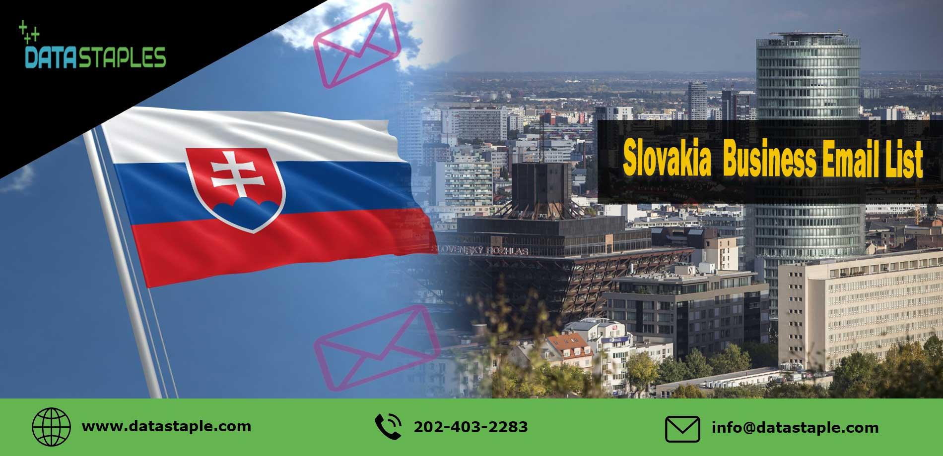 Slovakia Business Email List | DataStaples